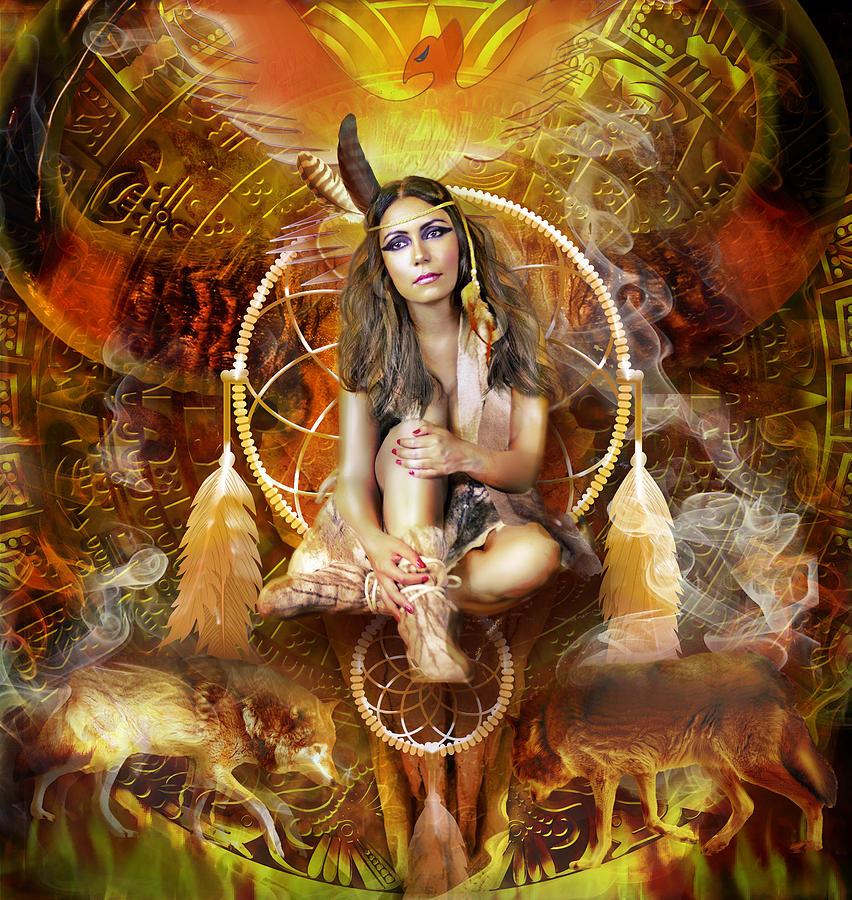 Spirit Of The Americas Mixed Media - Spirit Of The Americas Fine Art Print