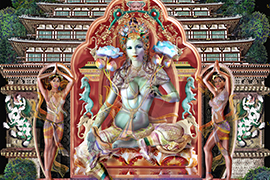 Female Aspect of the Universe, The Principal Aspect of Tara: Lady of Green Color