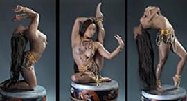 Mongolian Art Exhibition -- Female Buddhas